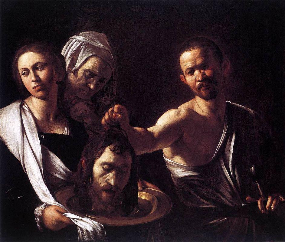 Salome with the Head of John the Baptist - Caravaggio