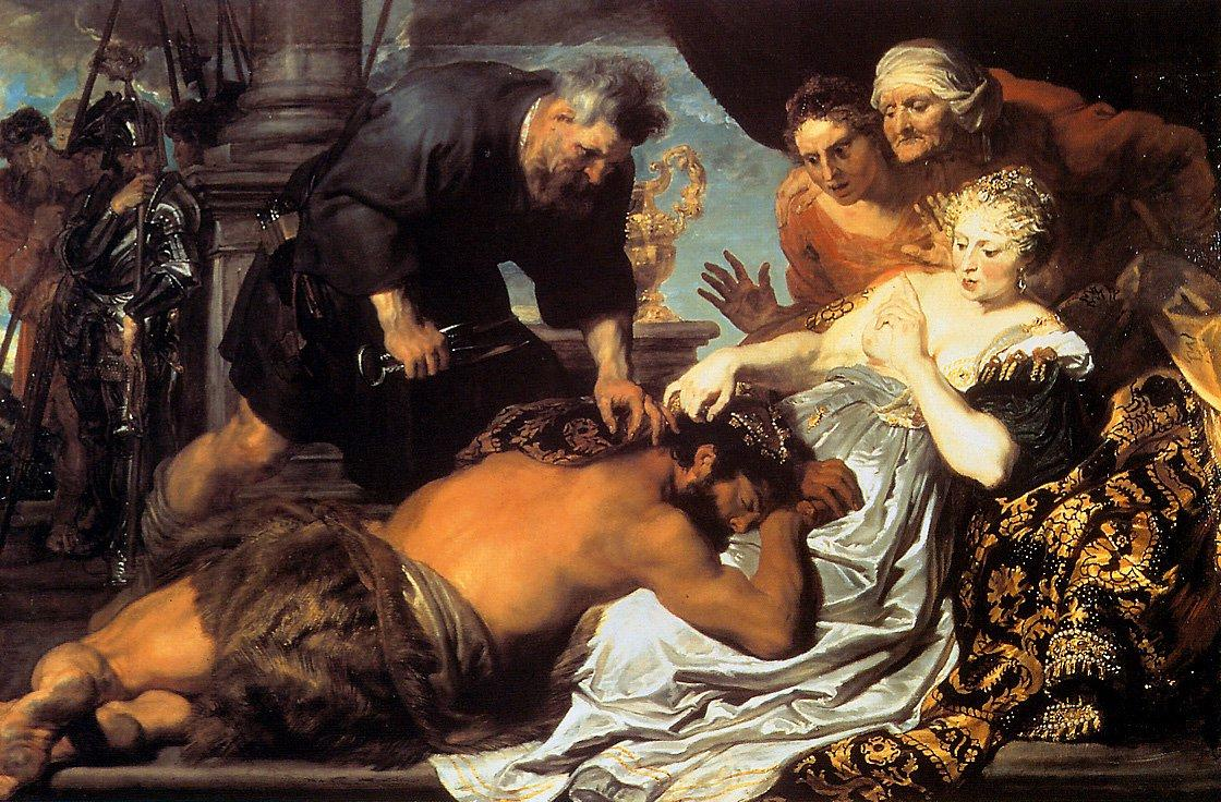 Samson and Delilah - Anthony van Dyck