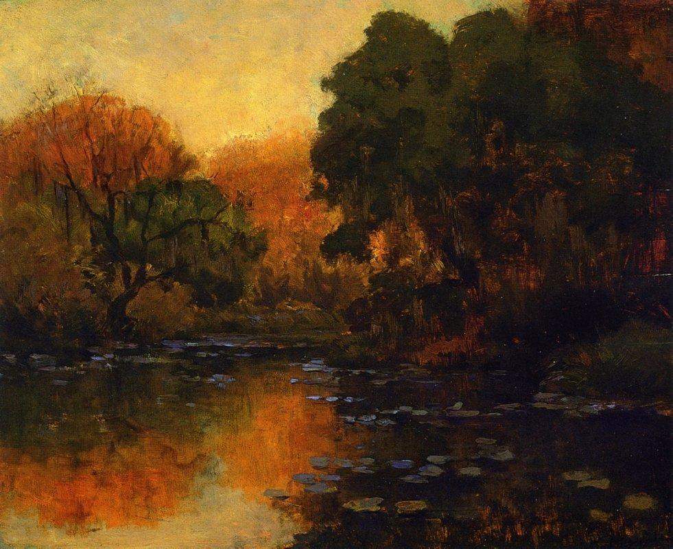 San Antonio River - Robert Julian Onderdonk