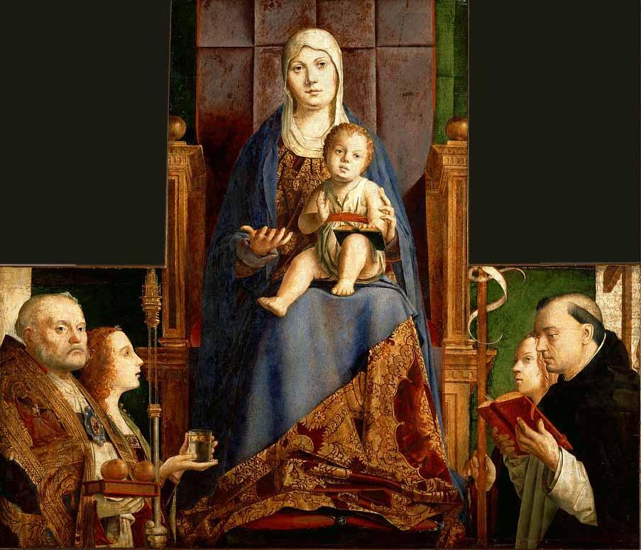 San Cassiano Altarpiece - Antonello da Messina