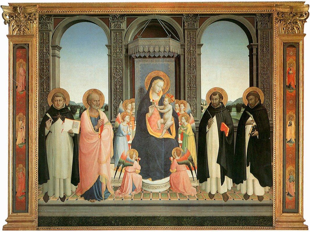 San Domenico Altarpiece - Fra Angelico