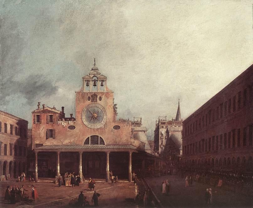 San Giacomo di Rialto - Canaletto