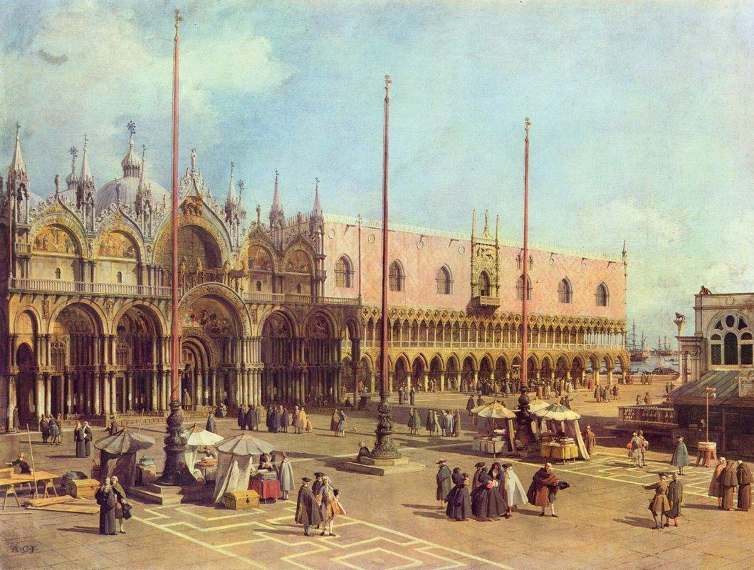 San Marco Square (Venice) - Canaletto