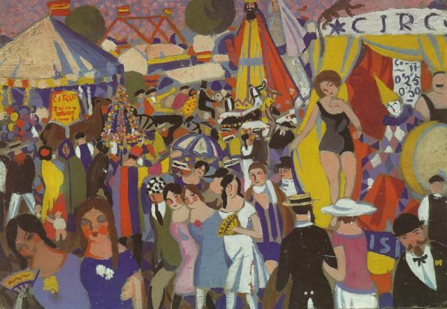 Santa Creus Festival in Figueras - the Circus - Salvador Dali
