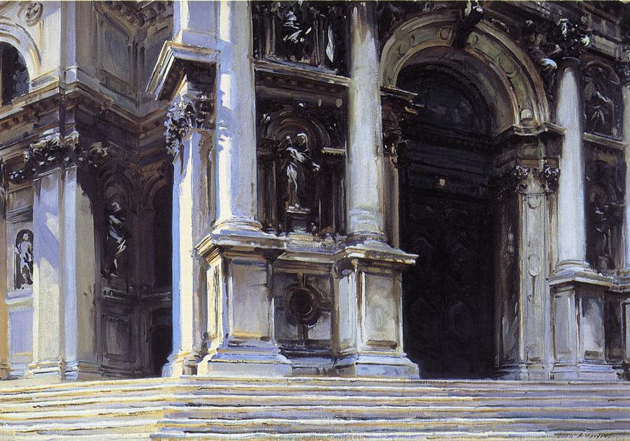 Santa Maria della Salute - John Singer Sargent
