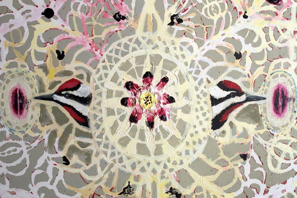 Sap Sucker Lace - Robert Zakanitch