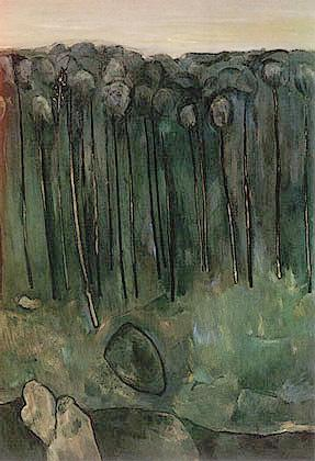 Sapling Forest - Fred Williams