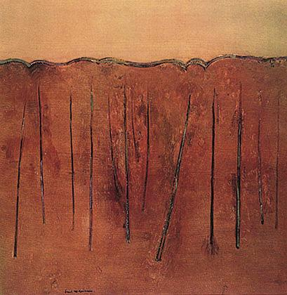 Saplings Mittagong II - Fred Williams