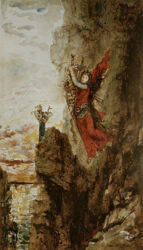Sappho in Leucadia - Gustave Moreau