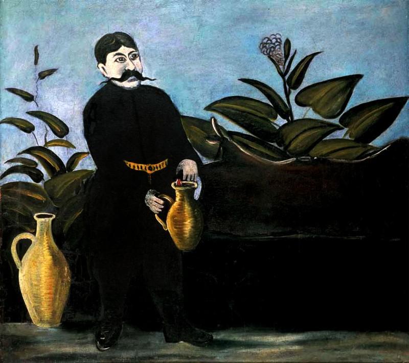 Sarkis Pouring Wine - Niko Pirosmani