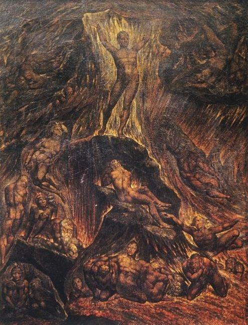Satan Calling Up his Legions - William Blake