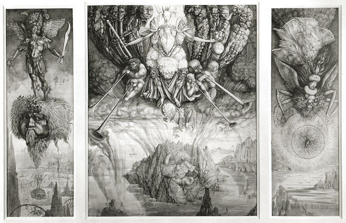 SATAN'S HEAVEN - Ernst Fuchs