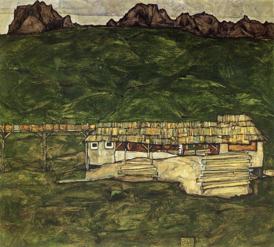 Sawmill - Egon Schiele