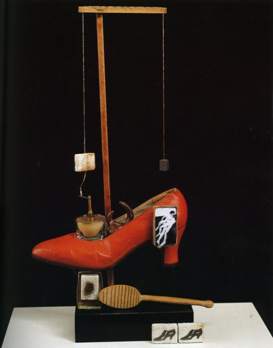 Scatalogical Object Functioning Symbolically (The Surrealist Shoe) - Salvador Dali