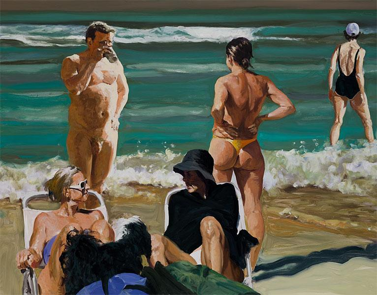 Scenes From Late Paradise The Drink - Eric Fischl