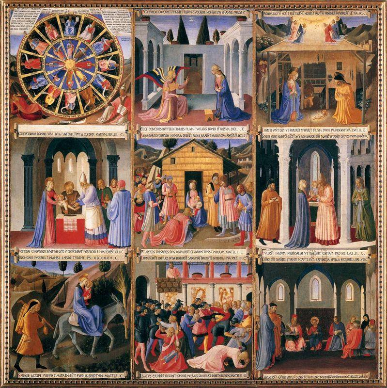 Scenes from the Life of Christ - Fra Angelico