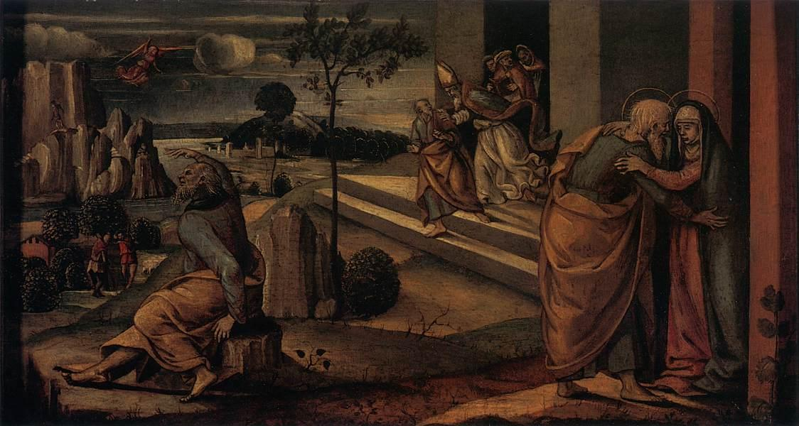 Scenes from the Lives of Joachim and Anne - Luca Signorelli