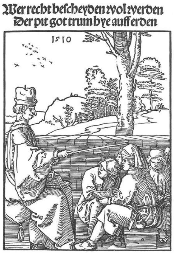 Schoolmaster - Albrecht Durer