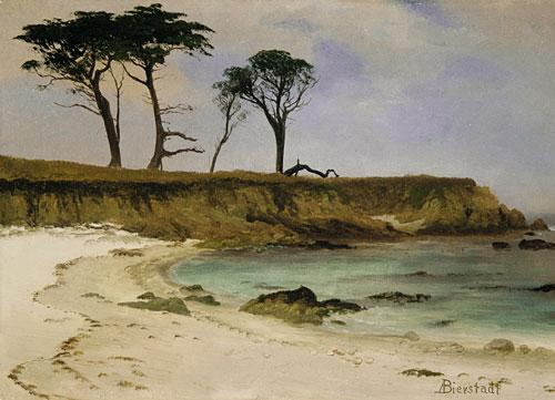 Sea Cove - Albert Bierstadt
