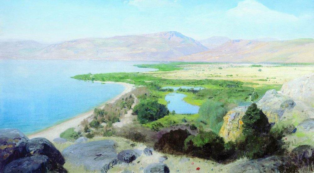 Sea of ??Galilee - Vasily Polenov