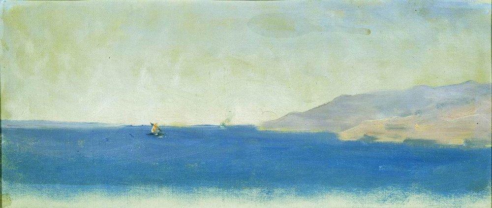Sea - Arkhip Kuindzhi