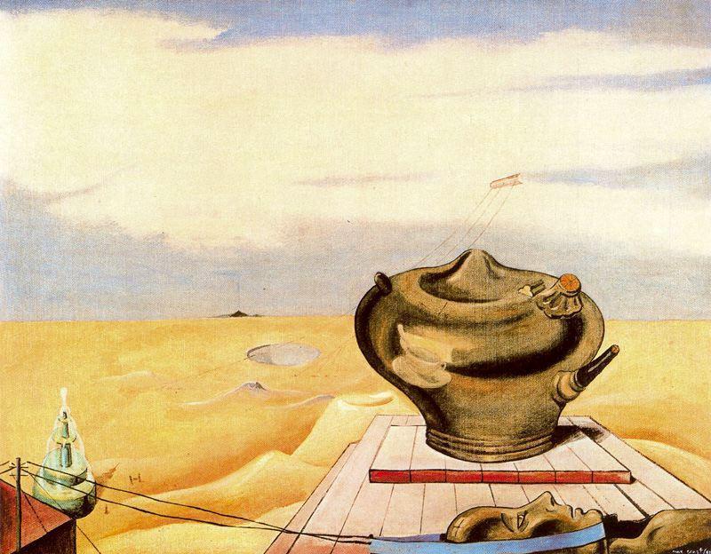 Seascape - Max Ernst