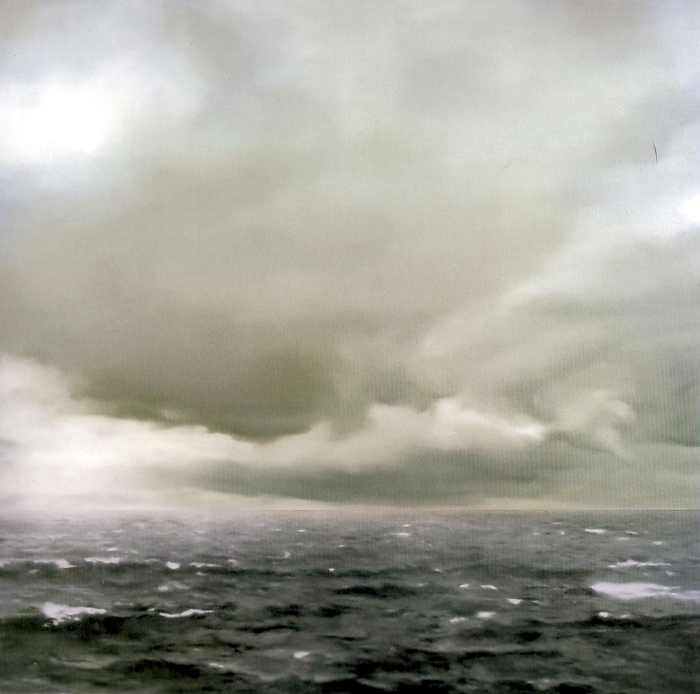 Seascape (Cloudy) - Gerhard Richter
