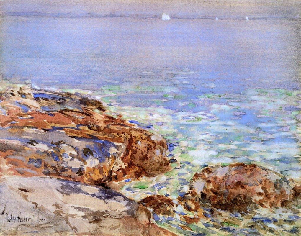 Seascape, Isles of Shoals - Childe Hassam