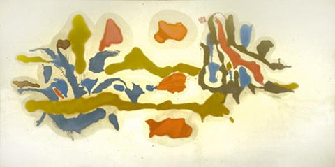 Seascape with Dunes - Helen Frankenthaler