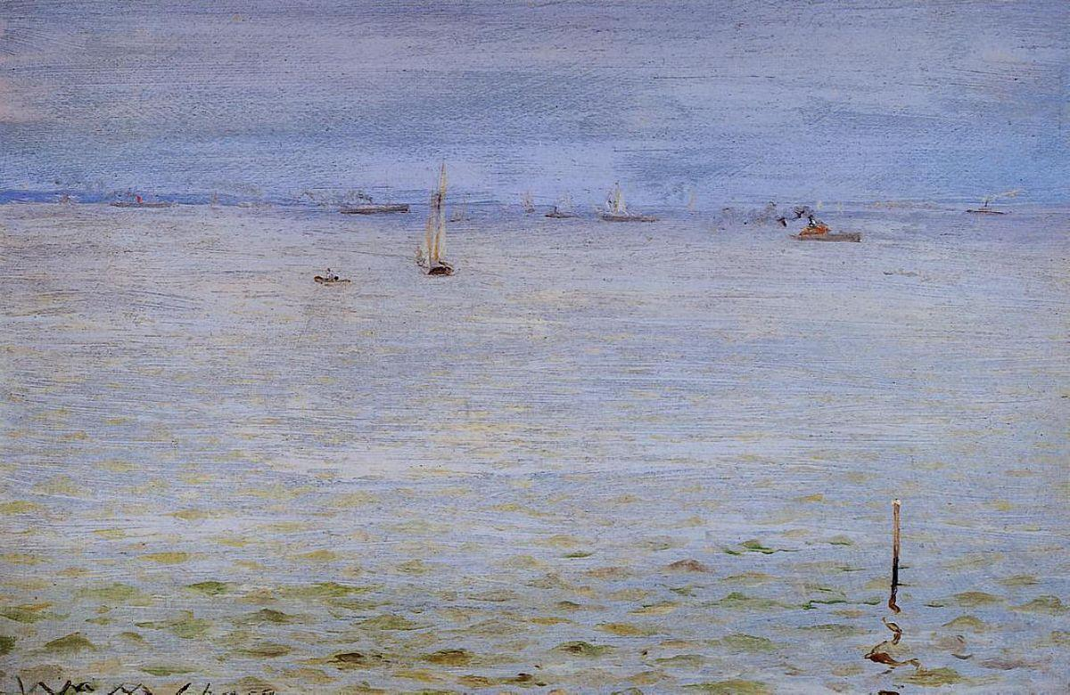 Seascape - Albert Bierstadt