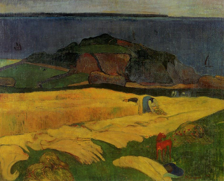 Seaside harvest - Paul Gauguin
