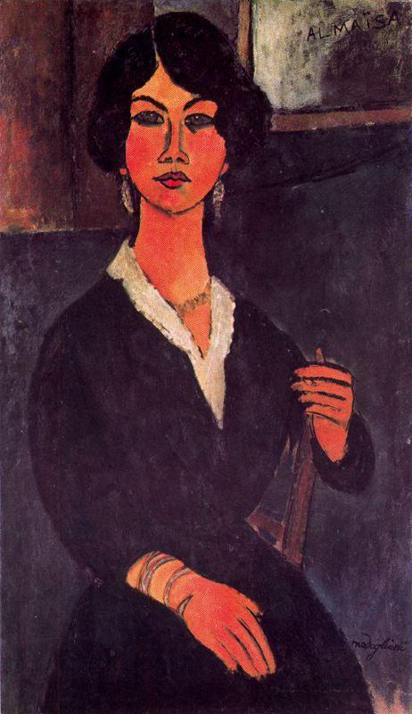 Seated Algerian Almaiisa - Amedeo Modigliani