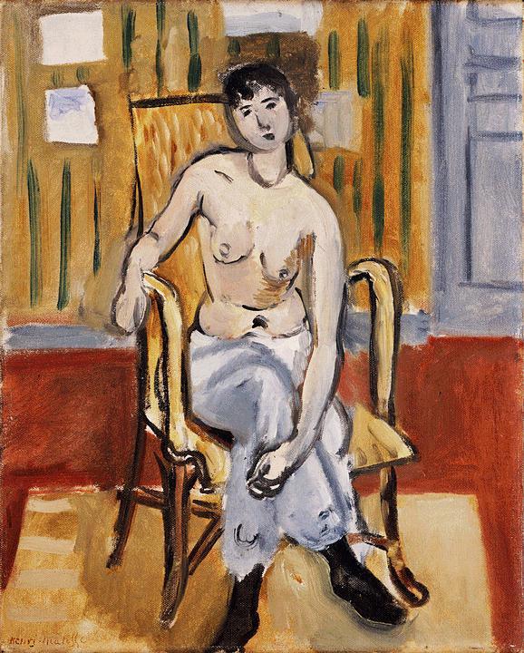 Seated Figure, Tan Room - Henri Matisse