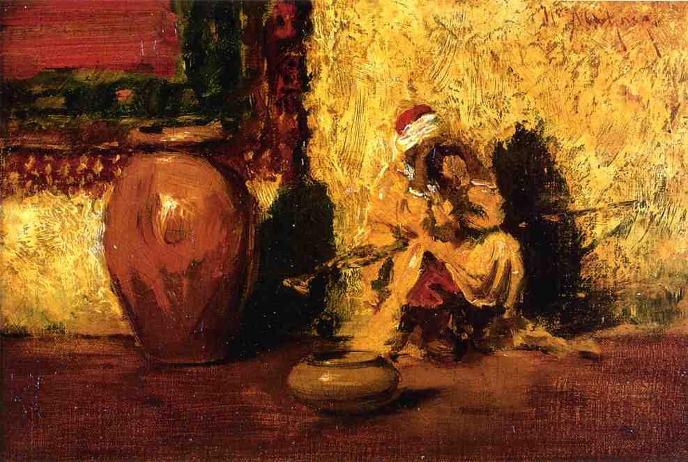 Seated Figure - William Merritt Chase