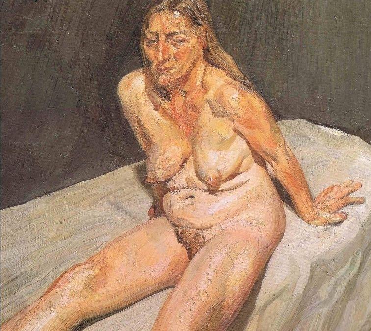 Seated Nude - Lucian Freud