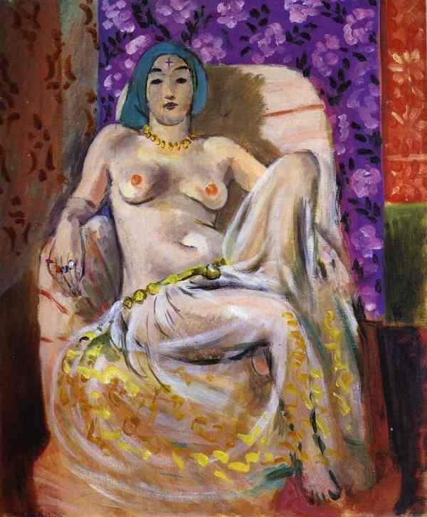 Seated Odalisque  - Henri Matisse