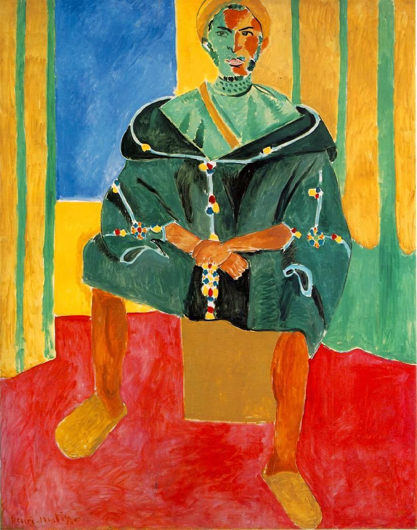 Seated Riffian  - Henri Matisse