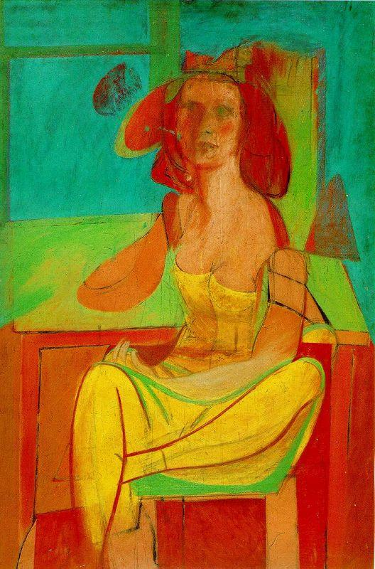 Seated Woman - Willem de Kooning