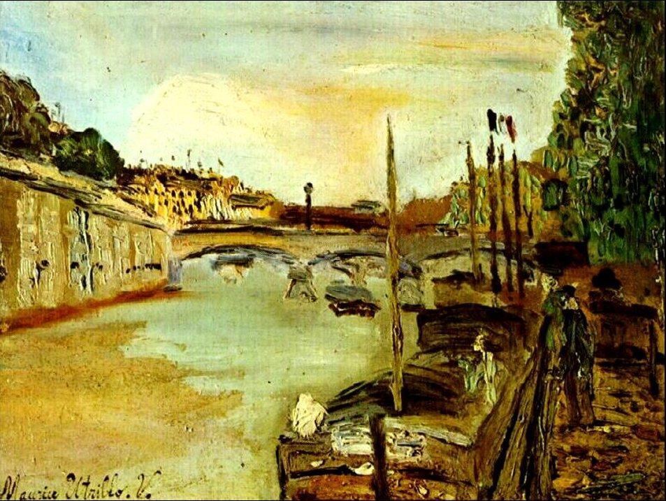 Seine - Maurice Utrillo