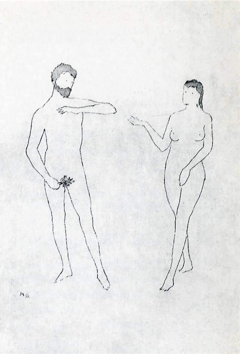 Selected Details after Cranach - Marcel Duchamp