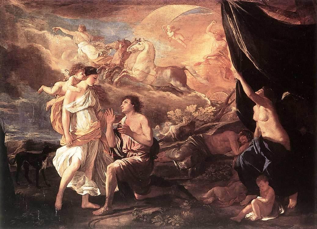 Selene and Endymion - Nicolas Poussin