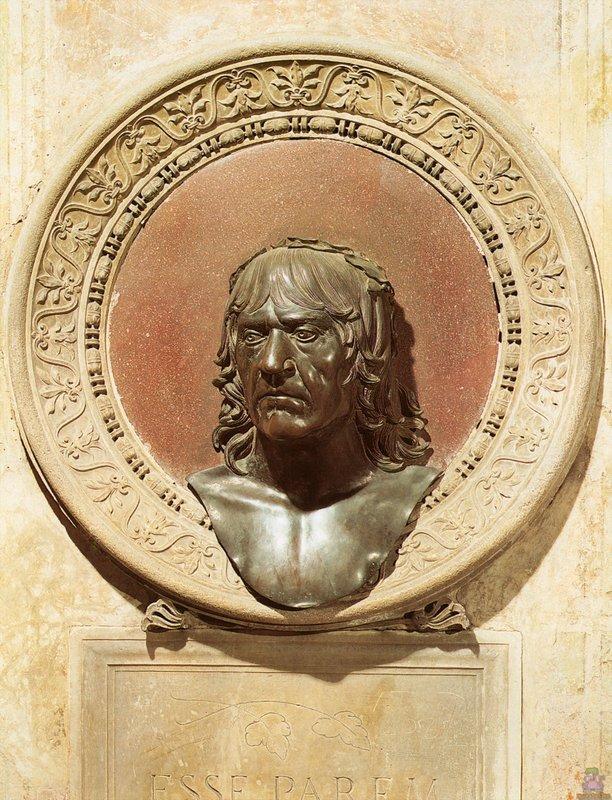Self-Portrait - Andrea Mantegna
