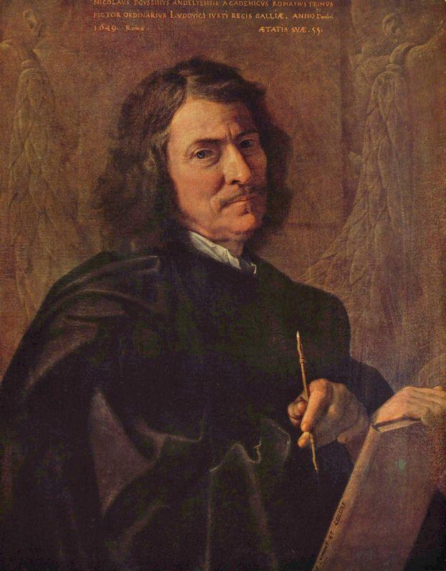 Self Portrait - Nicolas Poussin
