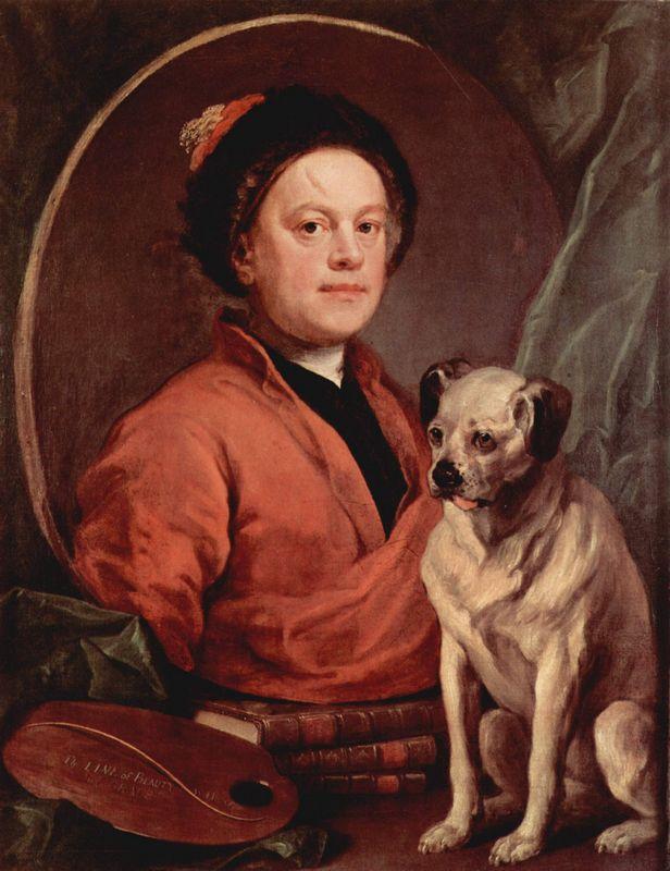 Self portrait - William Hogarth