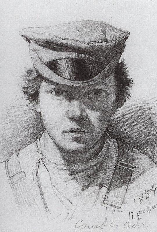 Self-portrait - Giovanni Fattori