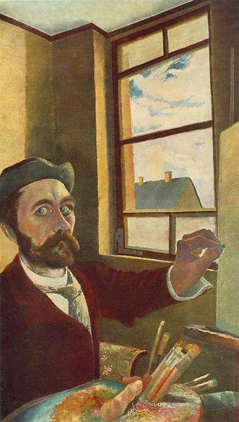 Self Portrait - Niko Pirosmani