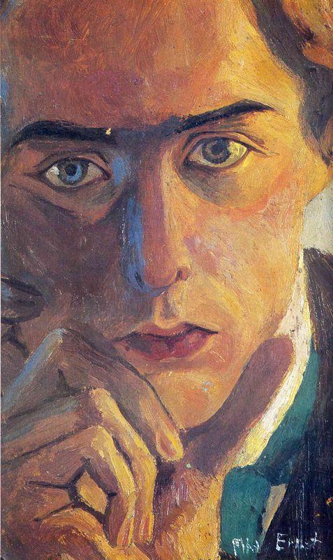Self-Portrait - Max Ernst