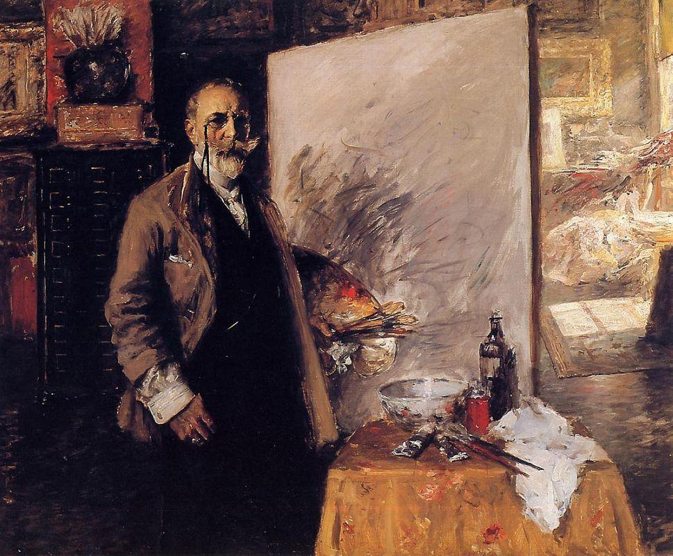 Self-portrait - Aleksandr Deyneka