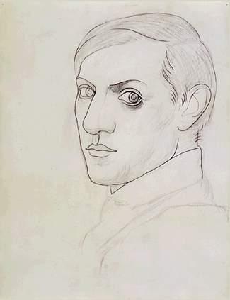 Self-portrait - Alexandre Jacovleff