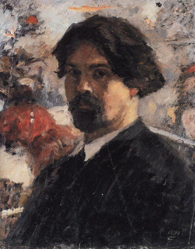 Self-Portrait against the background of picture